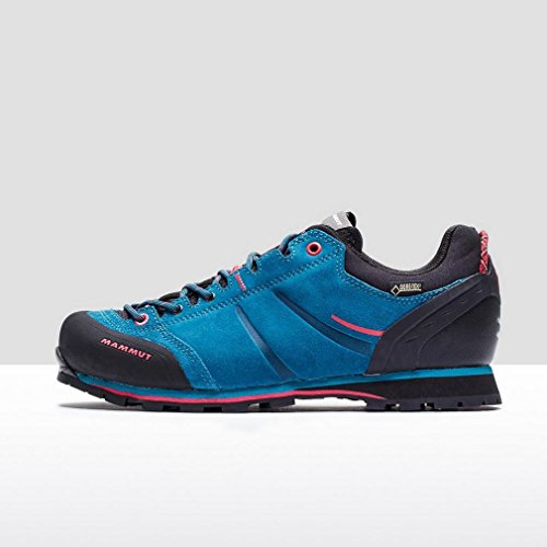 Mammut Wall Guide Low GTX - Calzado Mujer - azul/negro 2017 graphite-lavender