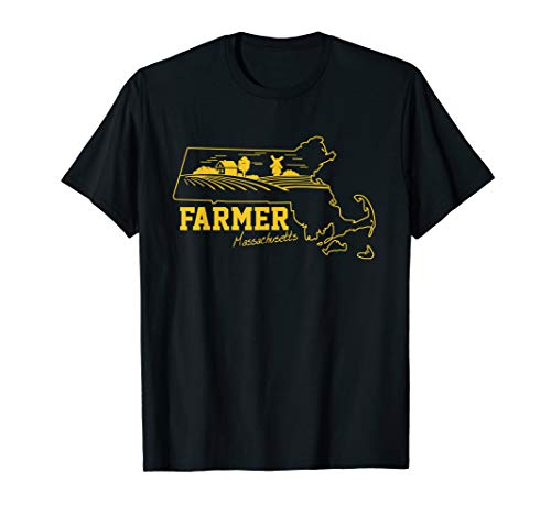 Massachusetts Farmer T-Shirt Farmers-Day Oct-12 (Farm Massachusetts Tables)