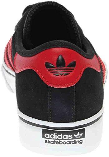 adidas Originals Herren Adi-Ease Premiere Fashion Sneaker Schwarz / Scharlachrot / Weiß