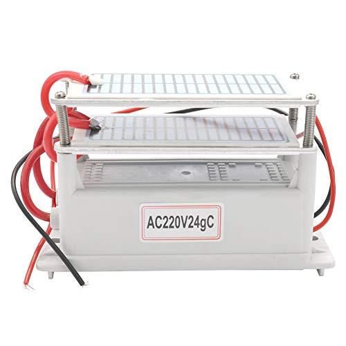 🥇 KKmoon 220V/24g Generador de Ozono de Cerámica Portátil