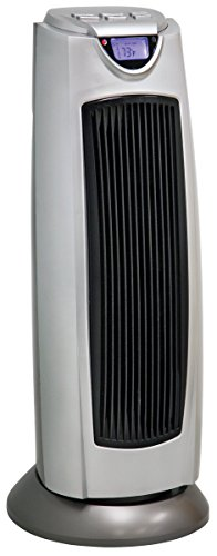 Comfort Zone CZ499R Oscillating Tower Heater with Remote Control by Howard Berger