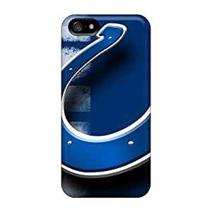 High Quality Leeler Indianapolis Colts Skin Case Cover Specially Designed For Iphone - 6 plus