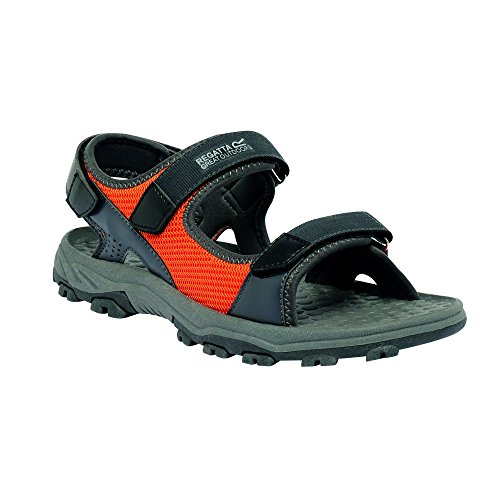 Regatta Great Outdoors Menns Terrarock Sandaler Navy / Granitt