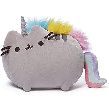 """GUND Pusheenicorn Stuffed Pusheen Plush Unicorn, 13"""""""