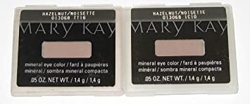 Mary Kay Mineral Eye Color Shadow Hazelnut Lot of 2