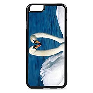 Case Fun Case Fun Swans in Love Snap-on Hard Back Case Cover for Apple iPhone 6 4.7 inch