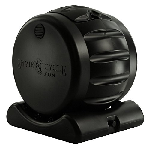 Envirocycle The Most Beautiful Composter in the World, Produces Both Solid and Liquid Compost, Food Safe, BPA and Rust…