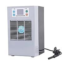 100-240V Digital Aquarium Thermostat Fish Tank Chiller Heater Water Cooling Heating Machine (US Plug 35L 100W)