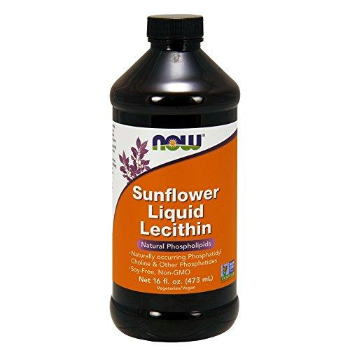 Foods Sunflower Liquid Lecithin Ounce