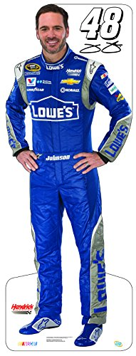 Miniature Cardboard Cutout - Jimmie Johnson #48 - Jimmie Johnson Set