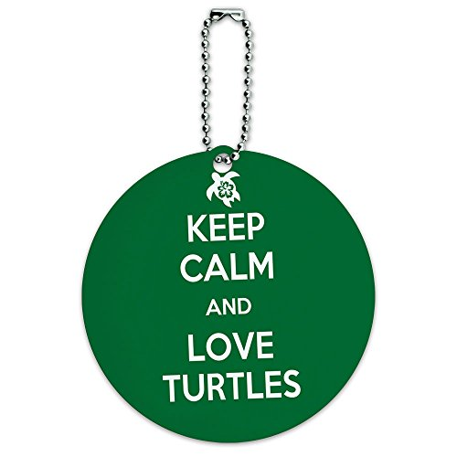 Turtles Round Luggage Suitcase Carry