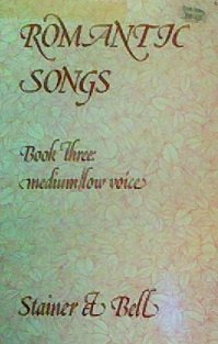 Fairy-tale Songs: Medium & Low Voices (Book Three)
