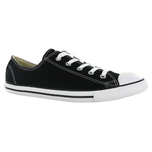 Converse CT All Star Dainty Ox Black Womens Trainers Size 3 UK ErcSJD8