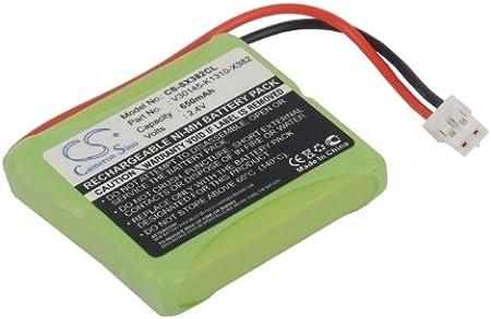Gigaset E455 ECO Gigaset E40 Siemens CS-SX382CL Batterie 500mAh Compatible avec Gigaset E450 SIM Gigaset E450 ECO Gigaset E455 Aton CL-102 Giga Top S329, SWISSCOM Gigaset E45 Gigaset E450