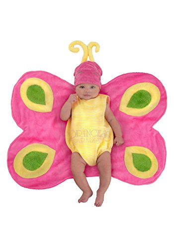 Princess Paradise Baby's Swaddle Wings Beautiful Butterfly Caterpillar Deluxe Costume, As Shown, 0/3M