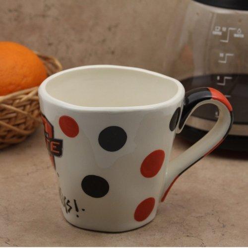 (Collegiate Wobbly Coffee Mug (Oklahoma State Cowboys))
