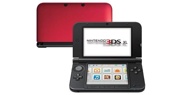 Nintendo 3DS - Consola XL - Color Negro y Rojo [Importación ...