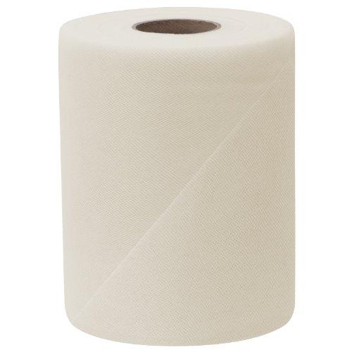 Falk Fabrics Tulle Spool, 6-Inch by 100-Yard, Silk White - 100 Yard White Tulle