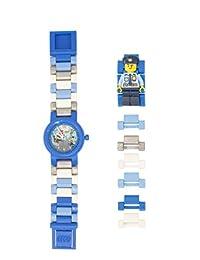 Lego Reloj City Policeman con Mini Figura, Multicolor