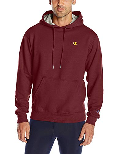 Champion Men's Powerblend Fleece Pullover Hoodie (Medium (38-40