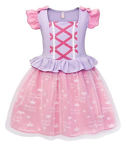 HenzWorld Aurora Dress Costume Princess Nightgowns Cosplay Birthday Party Pajamas Sleepwear -