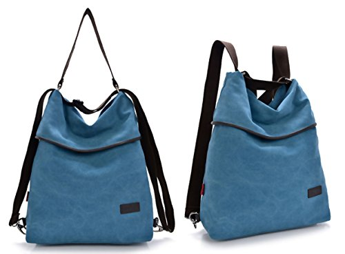 Handbag Bag Vintage Cross for Bag School Retro Travel Women Shoulder DcSpring Backpack Body Work Canvas Blue HqvSx0B