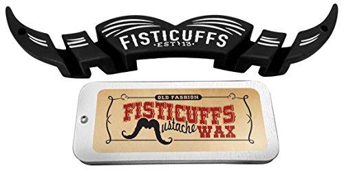 Fisticuffs Mustache Wax & Moguard combo