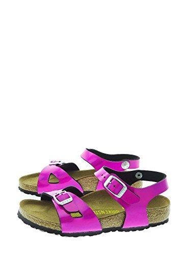 Birkenstock Rio - Sandalias de vestir para niñas Bianco