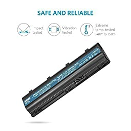 Anker High Performance 5200mAh/58Wh Laptop Battery for HP G32 G42 G42T G56 G62 G72 G4 G6 G6T G7; HP Presario CQ32 CQ42 CQ43 CQ430 CQ56 CQ62 CQ72; Envy 17; HP Pavilion DM4 DV3-4000 DV5-2000 DV6-3000
