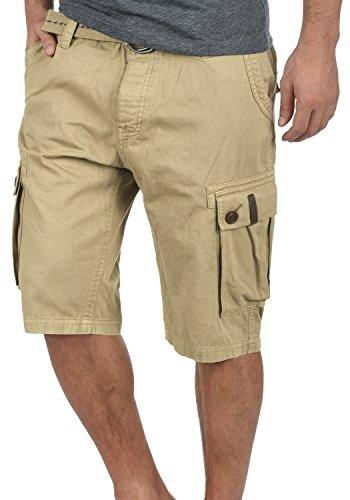 5409 Algodón Dune Cortos Con 100 Cargo Cinturón Bermudas Valongo Pantalón fit Para Regular De Hombres solid Pantalones fqB1aA7