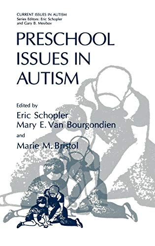 Preschool Issues in Autism (Current Issues in Autism) (Shop Rock Bristol)