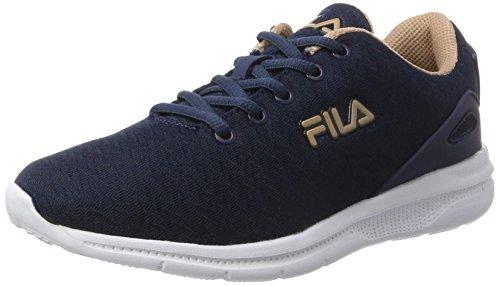 Fila Women Base Fury Run 2 Low Wmn - Zapatillas de casa Mujer Azul (Dress Blue)