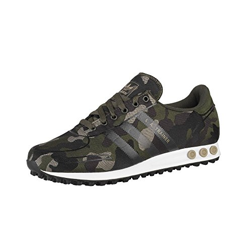 Adidas Trainer Weven - S79213 Zwart-groen-bruin
