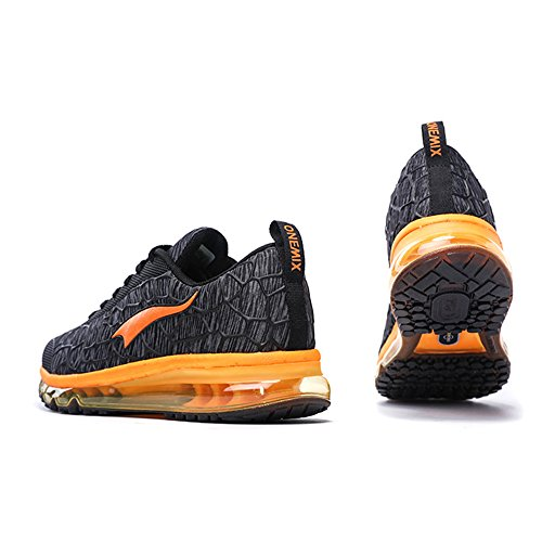 Sport for Casual Fitness Shoes Shoes Grey Athletic Air Running Jogging Men Orange OneMix and Trainers Multi Women's Charcoal Hq70znO