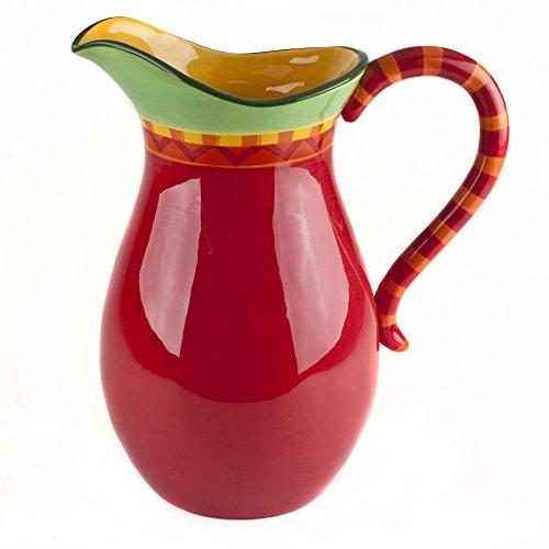 z Chili Pepper Pitcher (Large Ceramic Pitcher)