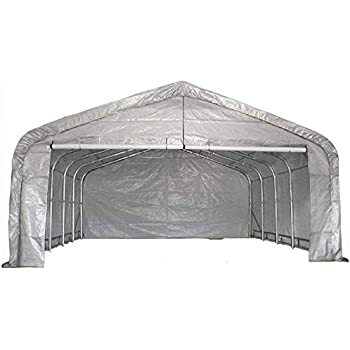 Amazon.com: WZH Metal car Canopy/Garage/Shelter/Steel ...