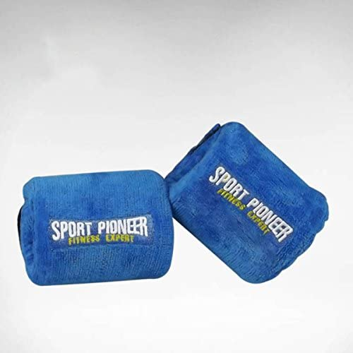 gymforward子供手首ウェイトペアセット調整可能手首筋力トレーニング、3/ 4ポンド各