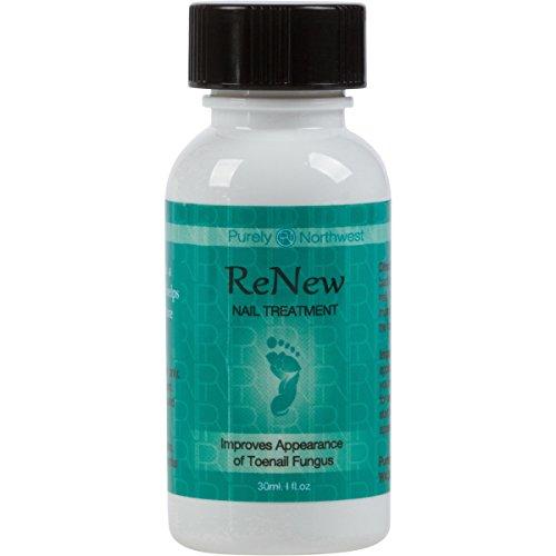 Tea Tree Oil Toenail Fungus (ReNew Nail Solution with Tea Tree Oil & Oregano Oil - Natural Nail Care Solution to Help Moisturize Dull Looking Finger & Toenails 1 FL OZ (30 ml))