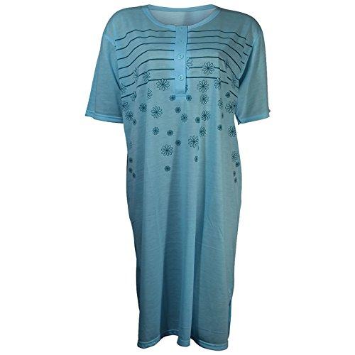 Lavazio - Camisón - para mujer azul turquesa