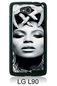 LG L90 case,Unique Design Beyonce Cellphone Black cell phone case for LG L90