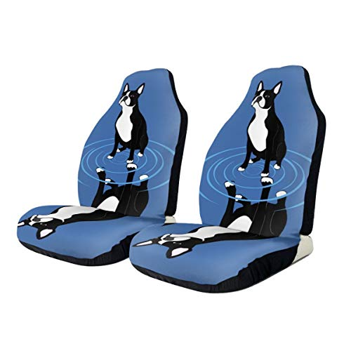 Car Seat Covers Dog Elastic Saddle Blanket With Seat Universal Car Seat Accessories,2 PCS