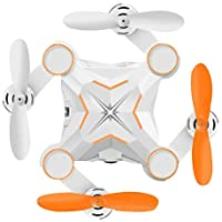 Zehui Folding Mini RC Quadcopter Wifi Control Real Time Transmission Pocket Drone for Aerial Photography Orange