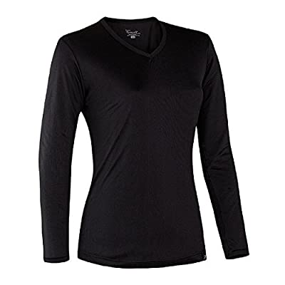 Terramar Women's Jersey Silk V-Neck