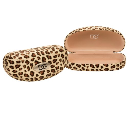 DG Eyewear Designer Fashion Sunglasses Clamshell Hard Case - New Prints and Colors