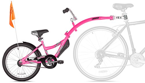 WeeRide Co-Pilot Bike Trailer, Pink (Bicycle Trailer Kids)