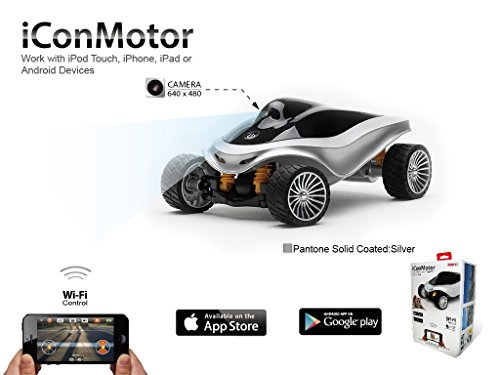 Emperor Of Gadgets Iconmotor Smartphone Controlled Rc Smart Car