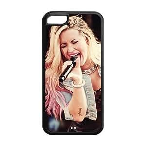 Customzie Your Own Singer Demi Lovato Back Case for iphone5C JN5C-1525