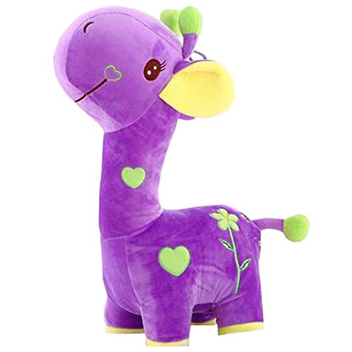 Plush Lovely Cartoon Giraffe Toy Girlfriend Kid Birthday ...