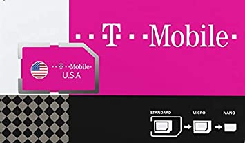 Estados Unidos de América Tarjeta SIM prepagada con 50GB 4G/LTE de Datos, Unlimited National Talk & Text en USA. Atar a velocidades máximas de 3G Durante 30 días.: Amazon.es: Electrónica