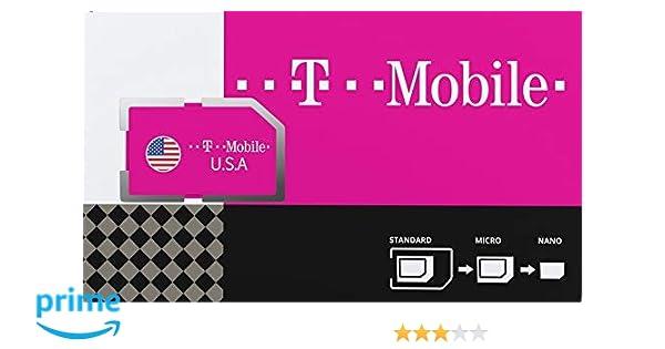 Estados Unidos de América Tarjeta SIM prepagada con 50GB 4G/LTE de ...